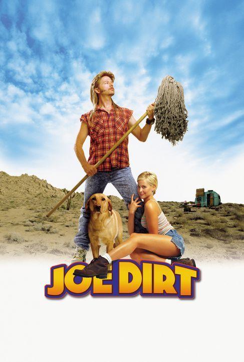 Er kam, schrubbte und siegte! Joe Dreck (David Spade, l.) und Brandy (Brittany Daniel, r.) ... - Bildquelle: 2003 Sony Pictures Television International. All Rights Reserved.