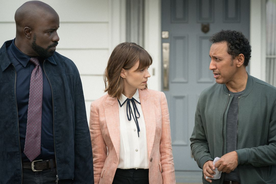 (v.l.n.r.) David Acosta (Mike Colter), Kristen Bouchard (Katja Herbers), Ben Shakir (Aasif Mandvi) - Bildquelle: Elizabeth Fisher 2019 CBS Broadcasting Inc. All Rights Reserved. / Elizabeth Fisher