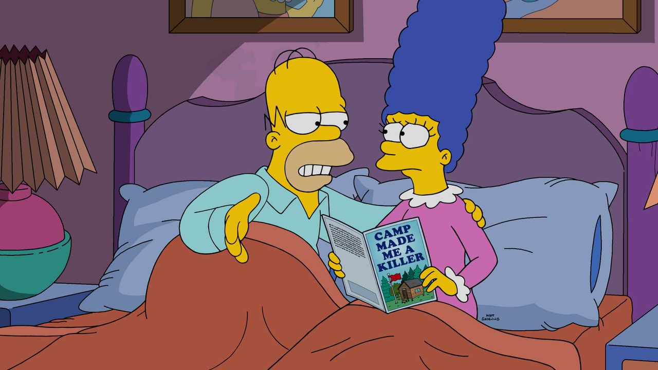 Wollen ihre Beziehung vor allem im Bett wieder aufleben lassen: Homer (l.) und Marge (r.) ... - Bildquelle: 2016-2017 Fox and its related entities. All rights reserved.