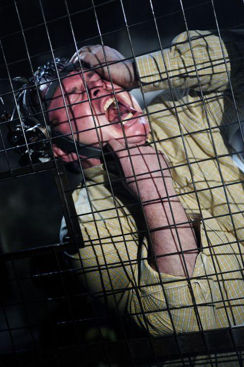 Eddies (Marty Moreau) Kopf steckt unglücklicherweise in einem Harnisch, der mit Schrauben bestückt ist, welche sich in seine Schläfen bohren werd... - Bildquelle: Steve Wilkie Kinowelt GmbH