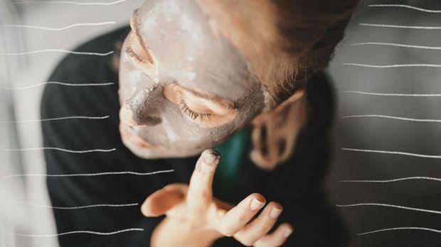 Gesichtsmasken mit Heilerde