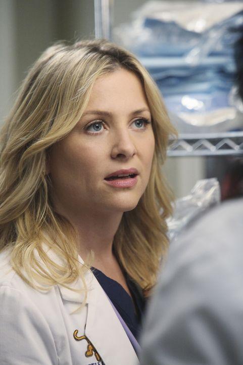 Ahnt noch nicht, dass gleich Schreckliches geschehen wird: Arizona (Jessica Capshaw) ... - Bildquelle: Touchstone Television