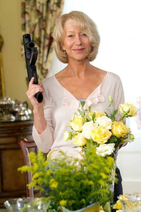 Glücklicherweise hat sich Viktoria (Helen Mirren) noch nicht ganz an das Hausfrauen-Dasein gewöhnt ... - Bildquelle: 2010 Concorde Filmverleih GmbH