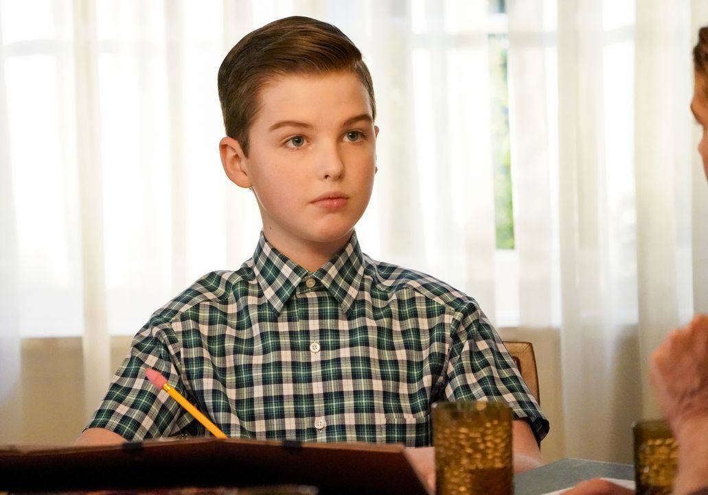 Sheldon Cooper (Iain Armitage) - Bildquelle: Robert Voets 2020 Warner Bros. Entertainment Inc. All Rights Reserved / Robert Voets