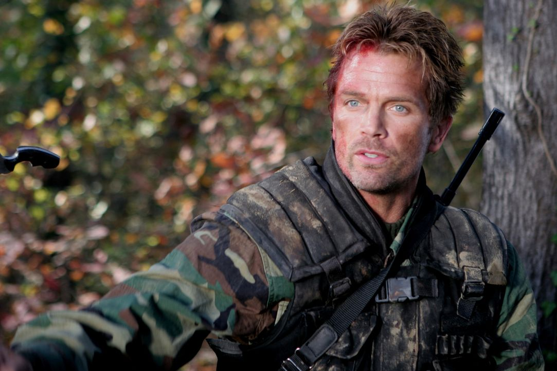 Als Russo (David Chokachi) und seine Soldaten in die Wälder Afghanistans eindringen, treffen sie auf eine Gefahr, die viel größer ist, als der ge... - Bildquelle: CPT Holdings, Inc. All Rights Reserved. (Sony Pictures Television International)