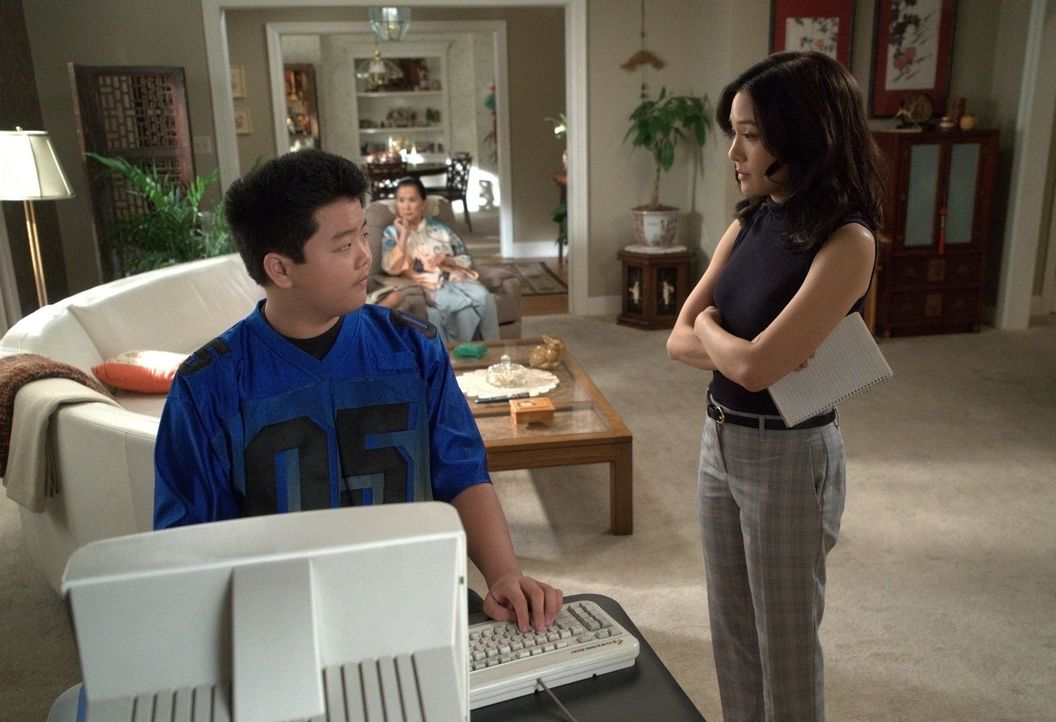 Eddie Huang (Hudson Yang, l.); Jessica Huang (Constance Wu, r.) - Bildquelle: 2018-2019 American Broadcasting Companies.  All rights reserved.