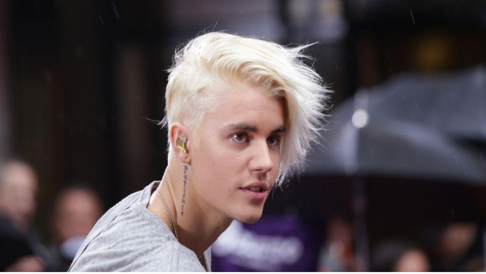 What Do You Mean Star Justin Bieber Wegen Aberglaube Platinblond