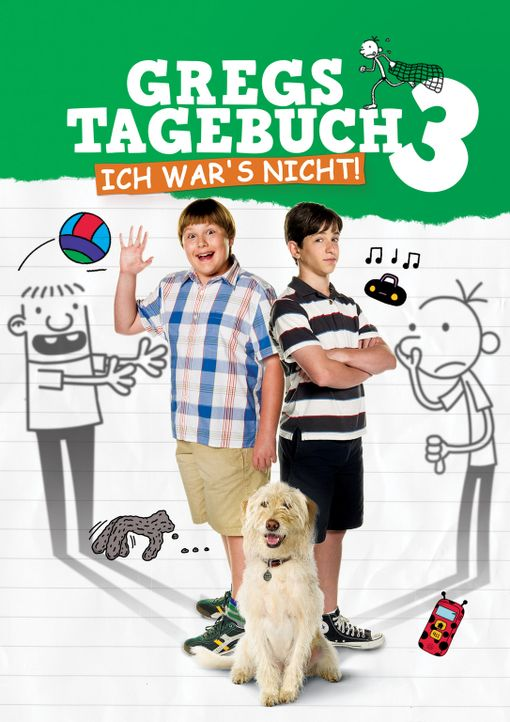 GREGS TAGEBUCH - ICH WAR'S NICHT - Plakatmotiv - Bildquelle: 2012 Twentieth Century Fox Film Corporation. All rights reserved.