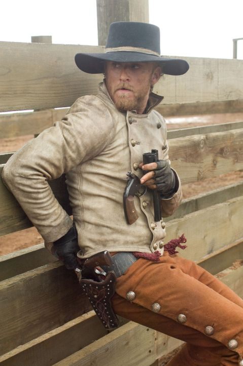 Wades Komplize Charlie Prince (Ben Foster) ahnt nicht, dass sein Chef einen fulminanten Gesinnungswandel mitgemacht hat ... - Bildquelle: 2007 Yuma, Inc. All Rights Reserved.