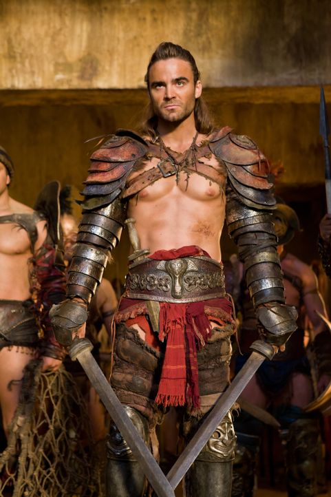 Kehrt in die Arena zurück: Gannicus (Dustin Clare) ... - Bildquelle: 2011 Starz Entertainment, LLC. All rights reserved.
