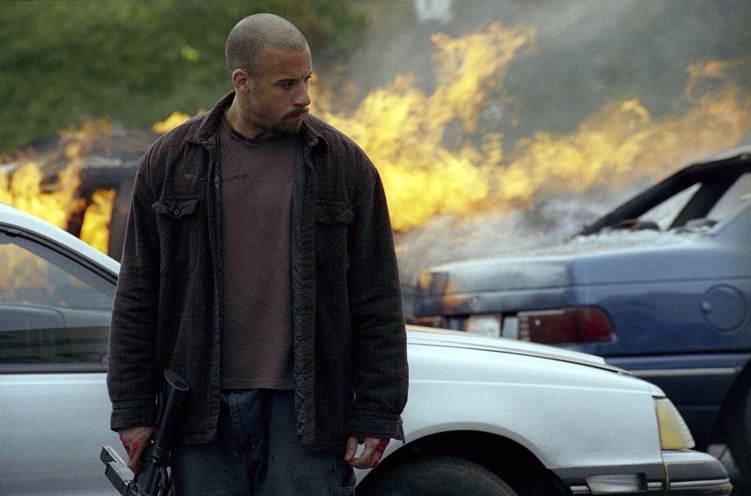In extremer Rage: Vetter (Vin Diesel) ... - Bildquelle: Warner Bros. GmbH