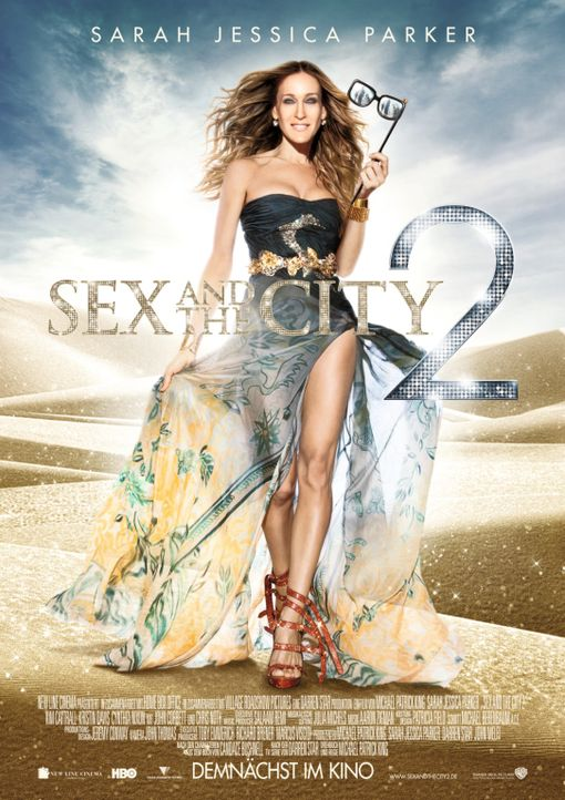 SEX AND THE CITY 2 - Plakatmotiv - Bildquelle: Warner Brothers