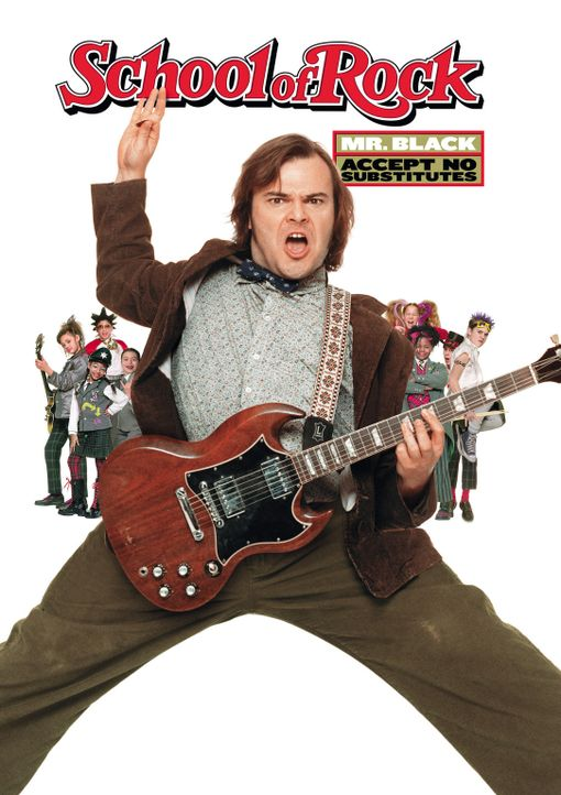 School of Rock mit Jack Black - Bildquelle: Paramount Pictures
