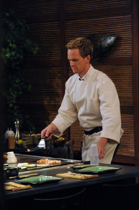 Lily und Marshall schließen eine Wette mit Barney (Neil Patrick Harris) ab, die ihn dazu zwingen könnte, Marshalls Lieblingskrawatte anzuziehen ... - Bildquelle: 20th Century Fox International Television