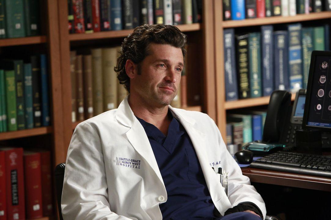 Wird er sich überreden zu einer riskanten Operation überreden lassen? Derek (Patrick Dempsey) ... - Bildquelle: ABC Studios