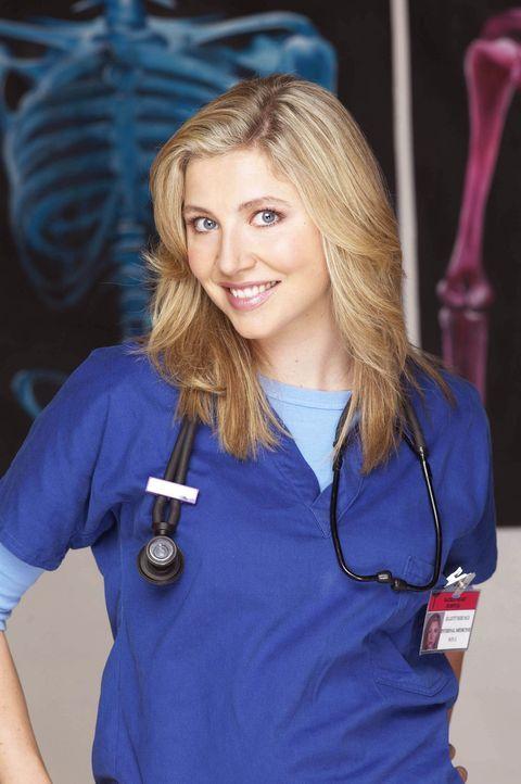 (2. Staffel) - Nach einem Jahr geht Elliot (Sarah Chalke) doch gelassener an die Patienten ran ... - Bildquelle: Touchstone Television