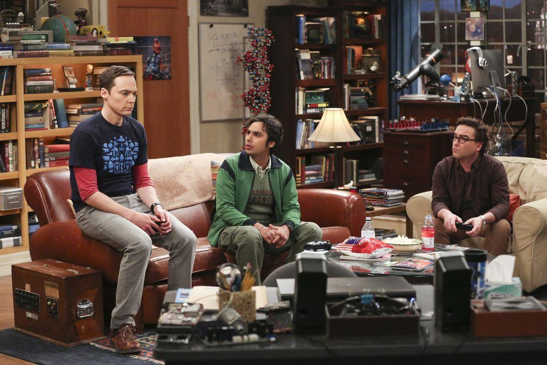Sheldon (Jim Parsons, l.) ist mehr als enttäuscht, als seine Mutter ihm klarmacht, dass sie nur zu seiner Hochzeit kommt, wenn er auch seinen großen... - Bildquelle: Warner Bros. Television