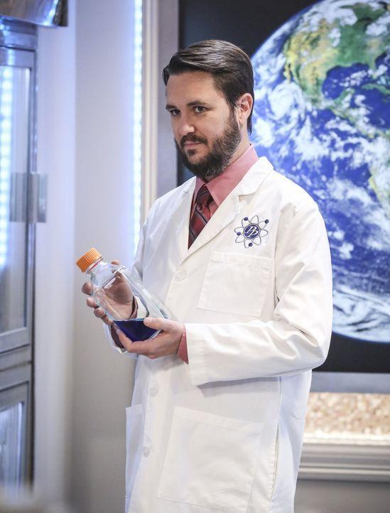 Zerstört Wil (Wil Wheaton) mit voller Absicht einen Kindheitstraum von Sheldon? - Bildquelle: Warner Bros. Television