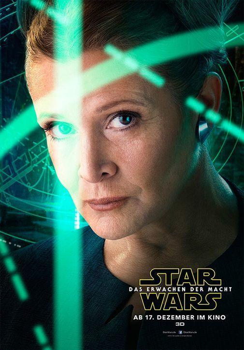 Star-Wars-Das-Erwachen-der-Macht-Poster-Leia-Walt-Disney - Bildquelle: Walt Disney Studios Motion Pictures