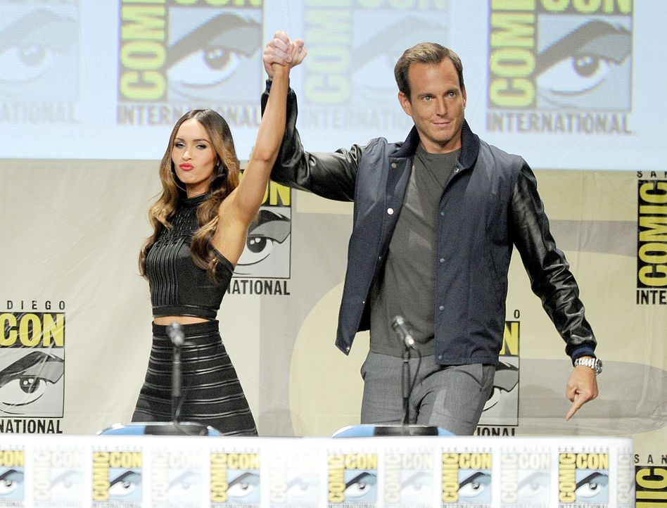 Megan Fox-Will Arnett-14-07-24-AFP (2) - Bildquelle: Getty-AFP