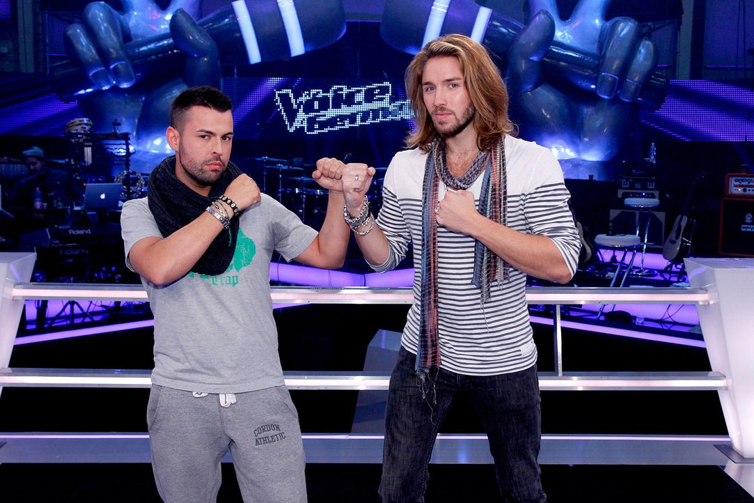 battle-gil-vs-christiano-01-the-voice-of-germany-richard-huebnerjpg 1700 x 1133 - Bildquelle: SAT.1/ProSieben/Richard Hübner