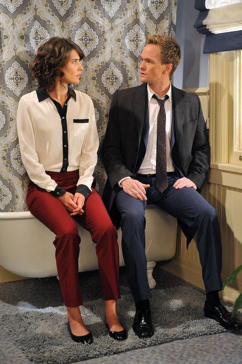 Haben sie noch eine Chance? Robin (Cobie Smulders, l.) und Barney (Neil Patrick Harris, r.) ... - Bildquelle: 20th Century Fox International Television