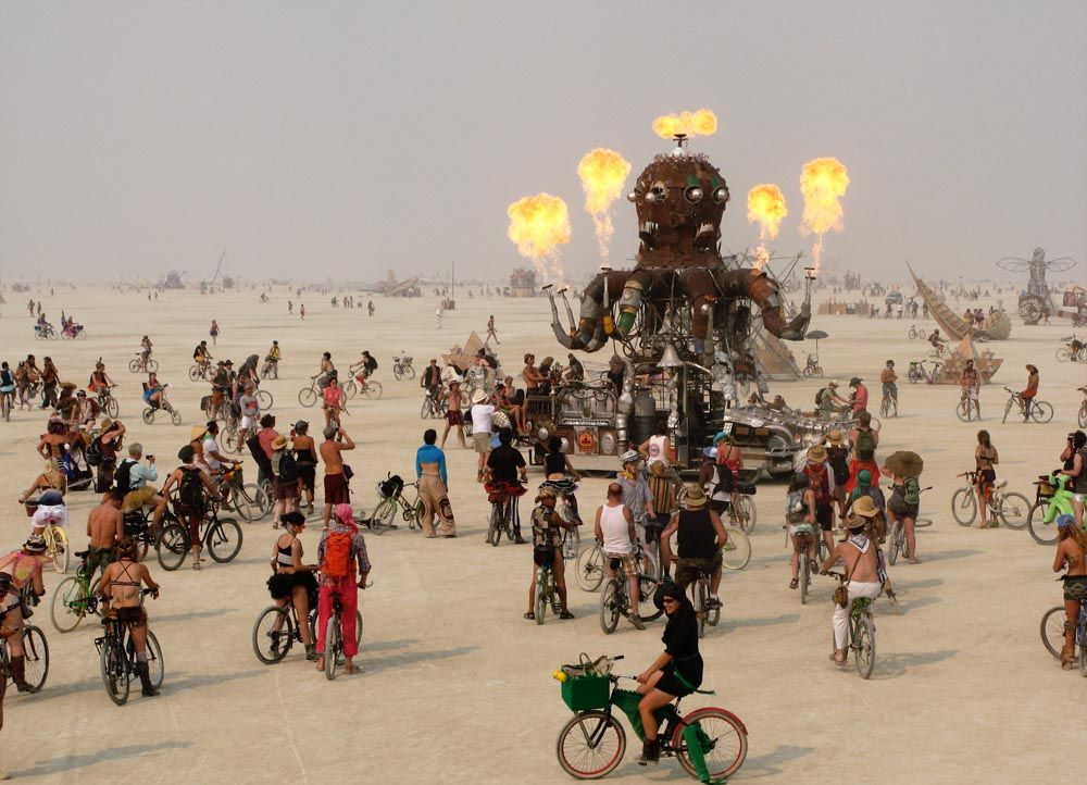 6 Burning Man - Bildquelle: dpa