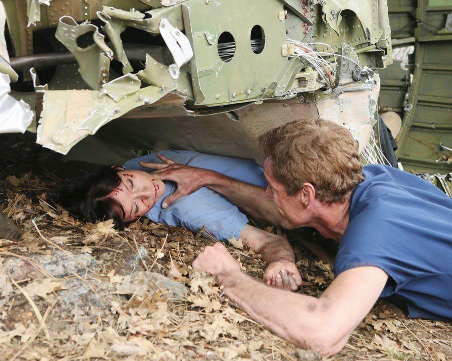 Grey's Anatomy – Mark und Lexie – 29: Lexie (Chyler Leigh), Mark (Eric Dane) - Bildquelle: ABC Studios