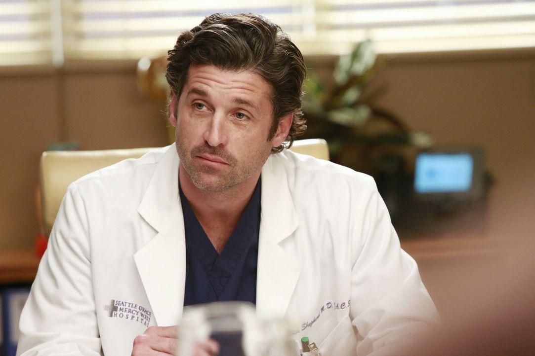 Derek (Patrick Dempsey) mischt sich in ein Streitgespräch ein, was fatale Folgen hat ... - Bildquelle: ABC Studios