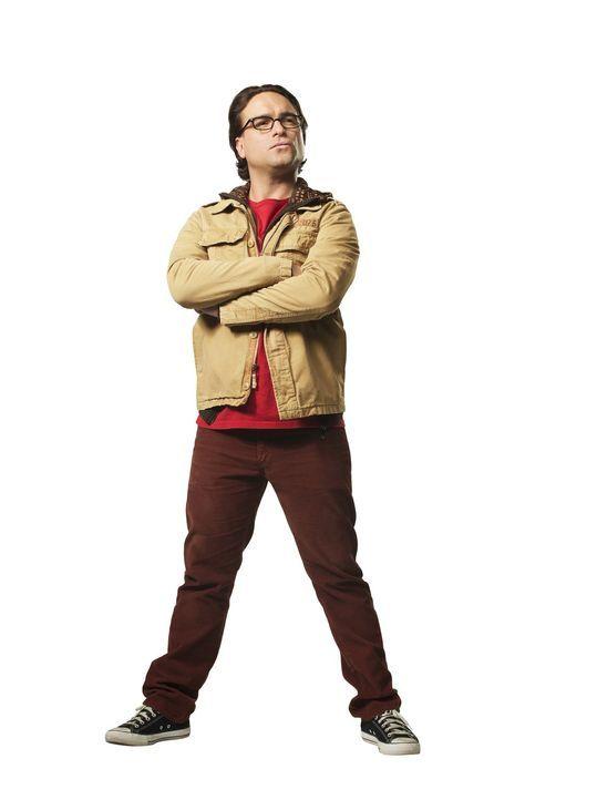 (10. Staffel) - Ein brillianter Physiker mit wenig Lebenserfahrung: Dr. Leonard Hofstadter (Johnny Galecki) ... - Bildquelle: Warner Bros. Television