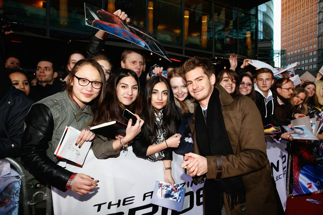 spiderman2-premiere-berlin-Andrew-Garfield-140415-Sony-Pictures - Bildquelle: 2014 Sony Pictures Releasing GmbH
