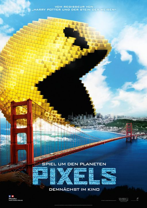 Pixels-3D-08-2015Sony-Pictures-Releasing-GmbH - Bildquelle: 2015 Sony Pictures Releasing GmbH