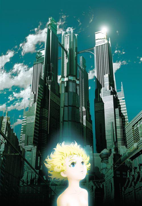 Robotic Angel - Plakatmotiv - Die kleine Tima, ein Android, muss die Stadt vor einem Größenwahnsinnigen und seinem durchgeknallten Sohn retten ... - Bildquelle: 2003 Sony Pictures Television International. All Right Reserved.