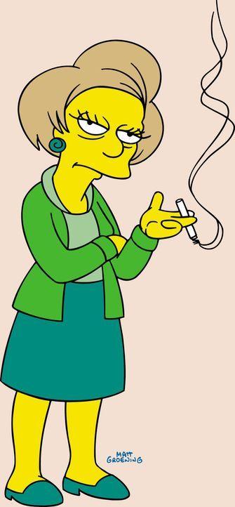 (17. Staffel) - Barts Lehrerin Miss Krabappel ... - Bildquelle: und TM Twentieth Century Fox Film Corporation - Alle Rechte vorbehalten