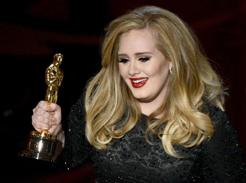 Oscar ® 2013 - Bester Filmsong: Adele - Bildquelle: AFP / GETTY IMAGES NORTH AMERICA
