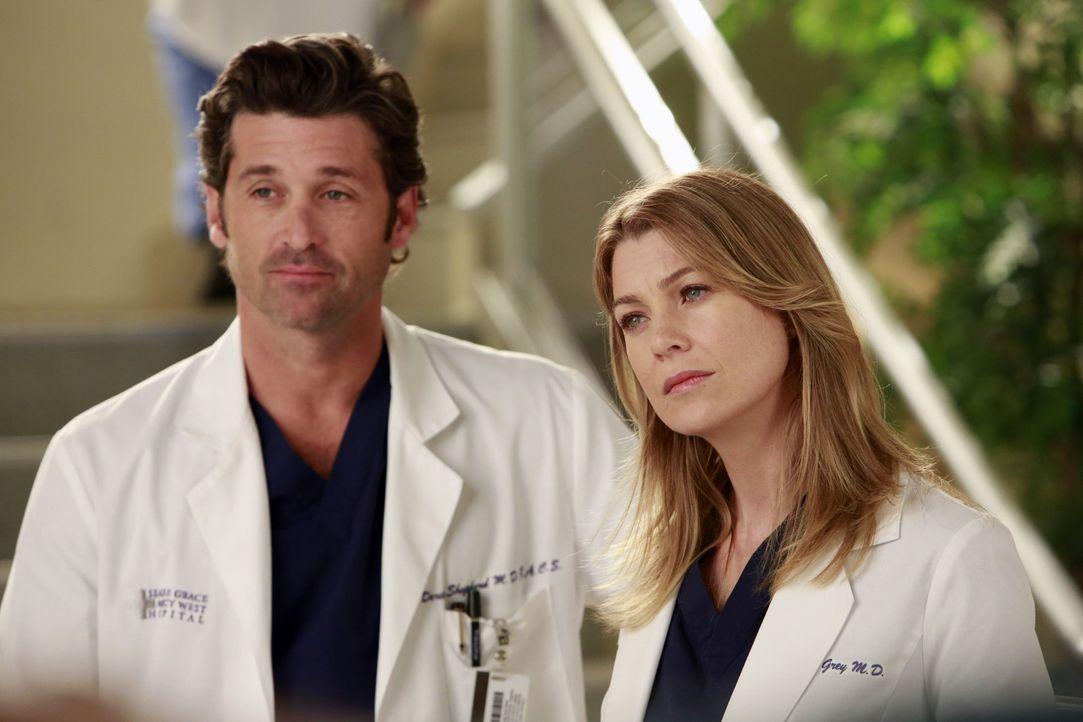 Die Assistenzärzte finden sich inmitten des Dramas am Seattle Grace wieder: Meredith (Ellen Pompeo, r.) bittet Heather um das Unmögliche, sie soll... - Bildquelle: ABC Studios