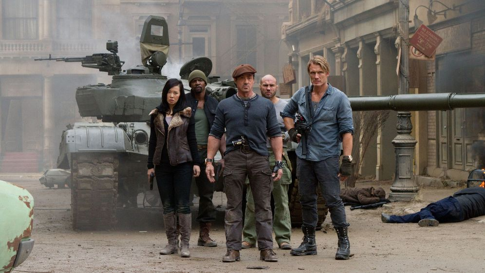 The Expendables 2 - Bildquelle: BARNEY'S CHRISTMAS, INC.  ALL RIGHTS RESERVED