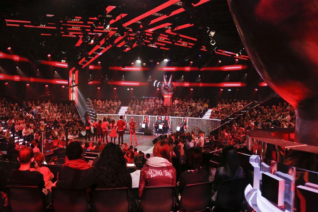Wer die Wahl hat, hat die Qual: Die Coaches dürfen nur drei Talente nominieren, die für ihr Team in den Liveshows antreten: Rea Garvey, Michi Beck,... - Bildquelle: Richard Hübner SAT.1/ProSieben