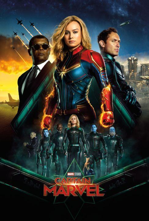 Captain Marvel - Artwork - Bildquelle: Marvel Studios 2019