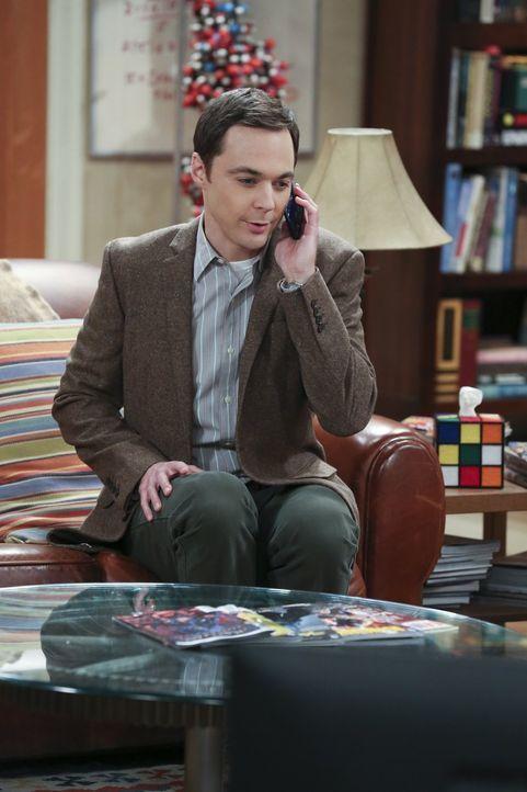 Sheldons (Jim Parsons) große Chance ist gekommen: Von Will Wheaton soll er für eine Dokumentation über Star Trek interviewt werden ... - Bildquelle: 2015 Warner Brothers