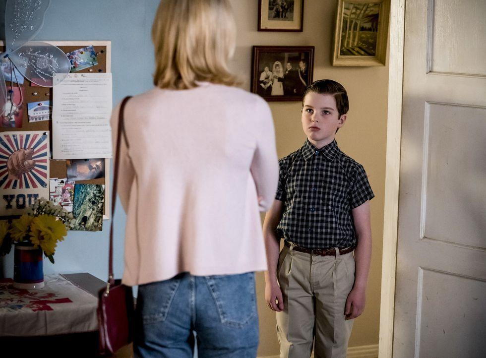 Sheldon Cooper (Iain Armitage) - Bildquelle: Nicole Wilder 2019 WBEI. All rights reserved. / Nicole Wilder