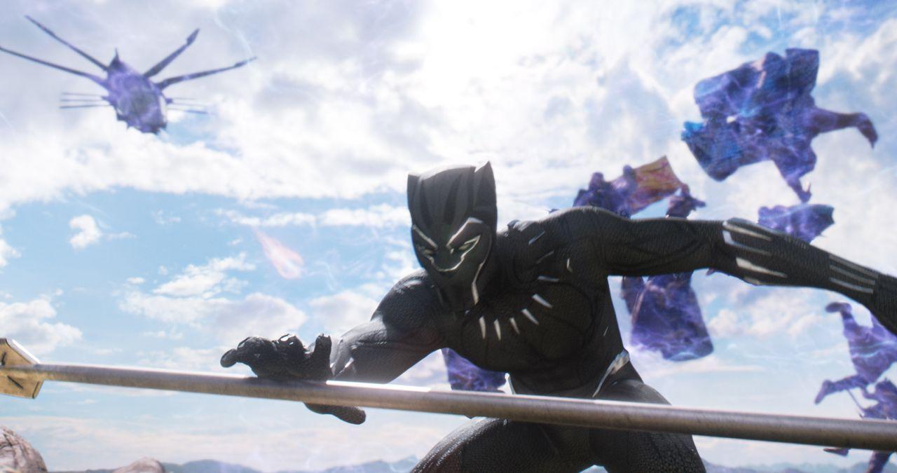 T'Challa / Black Panther (Chadwick Boseman) - Bildquelle: Marvel Studios 2018