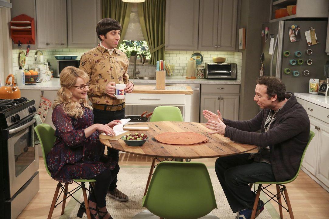Während die werdenden Eltern Bernadette (Melissa Rauch, l.) und Howard (Simon Helberg, M.) sich auf ihr Baby freuen und die Entbindung immer näher r... - Bildquelle: 2016 Warner Brothers