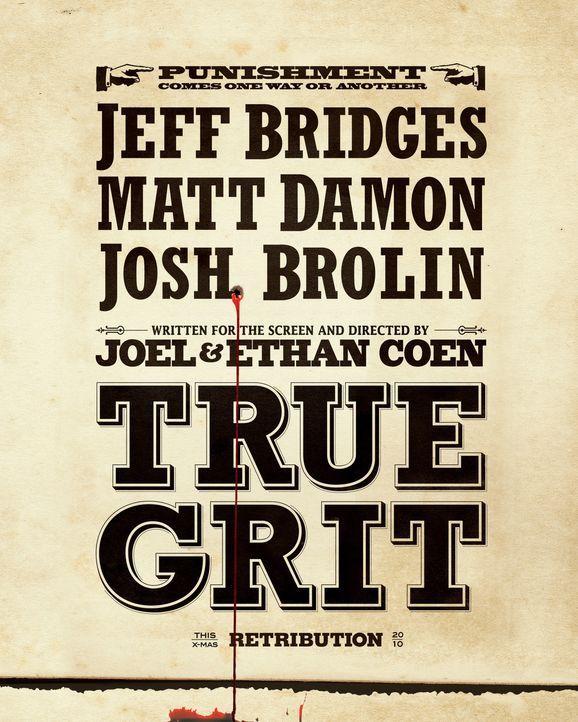 True Grit - Plakatmotiv - Bildquelle: (2010) PARAMOUNT PICTURES. All rights reserved.