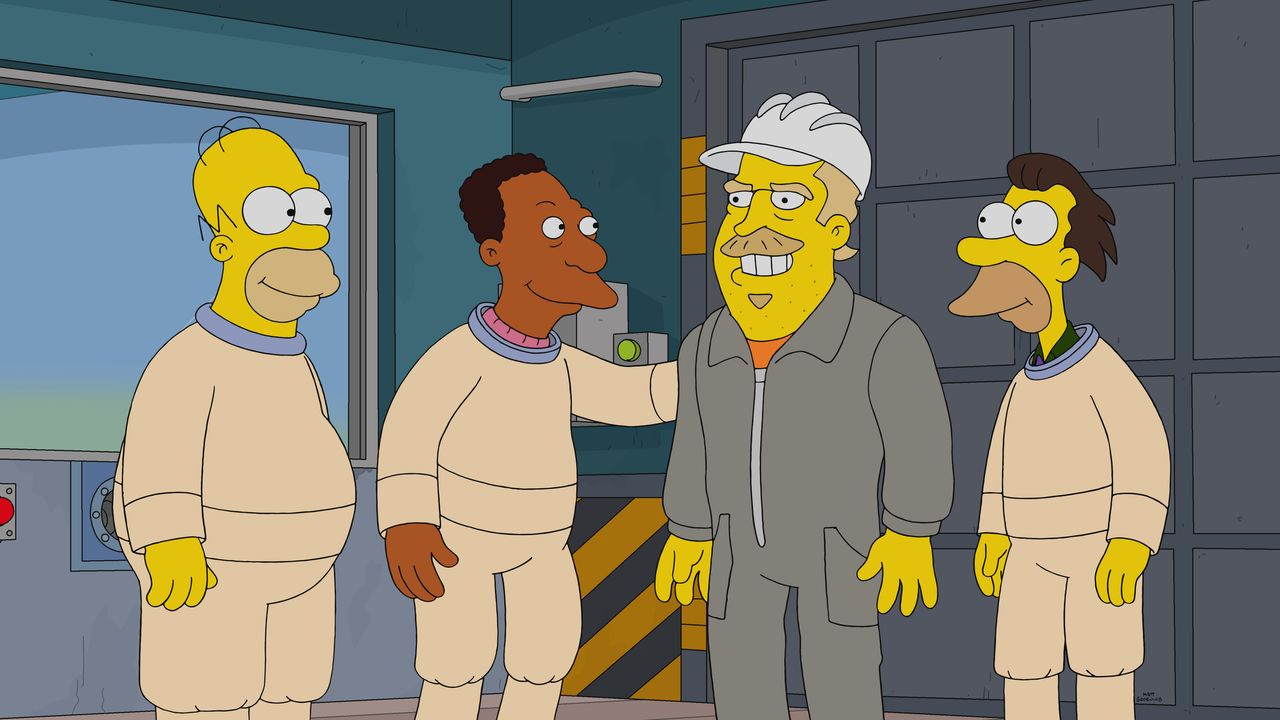 (v.l.n.r.) Homer; Carl; Fred; Lenny - Bildquelle: 2020 by Twentieth Century Fox Film Corporation.