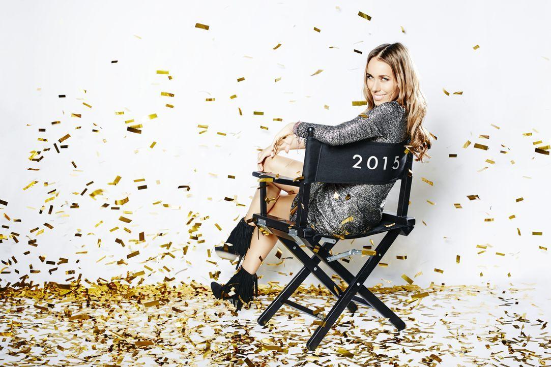 """Moderatorin Annemarie Carpendale präsentiert in red! 2015 - Der große Jahresrückblick der Stars"""" die VIP-Highlights des vergangenen Jahres ... - Bildquelle: Benedikt Müller ProSieben"""