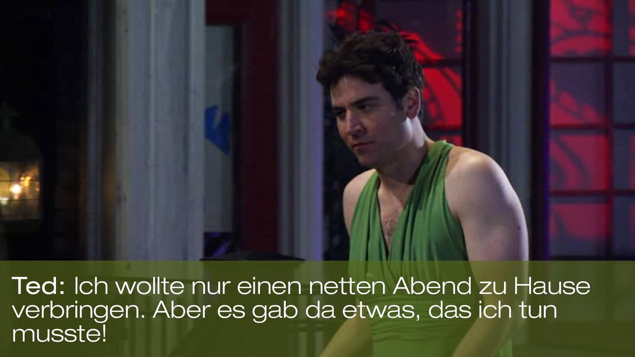 zitat-spruch-quote-how-i-met-your-mother-staffel-7-episode-21-ted-abend-foxpng 1600 x 900 - Bildquelle: 20th Century Fox
