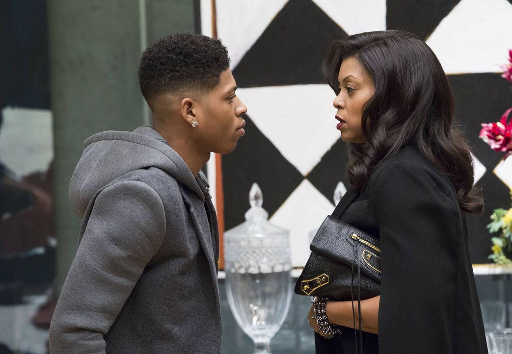 Werden Cookie (Taraji P. Henson, r.) und ihr Sohn Hakeem (Bryshere Y. Gray, l.) jemals miteinander klar kommen? - Bildquelle: 2015 Fox and its related entities.  All rights reserved.
