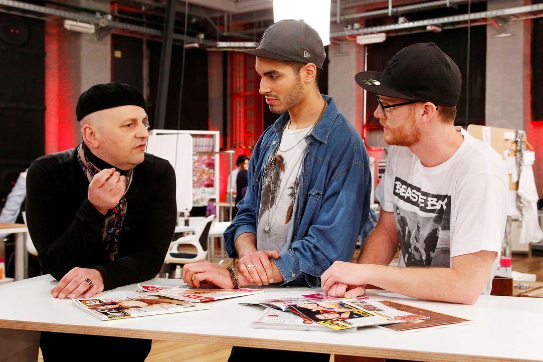 Fashion-Hero-Epi05-Atelier-03-ProSieben-Richard-Huebner - Bildquelle: Richard Huebner