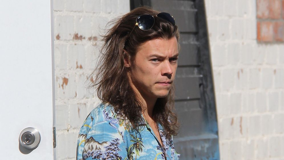 One Direction Star Harry Styles Kurze Haare Aus Protest Gegen
